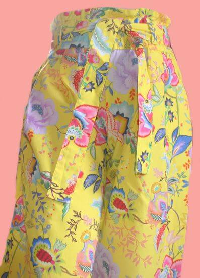 Kindermode Oilily Sommer 2020 Oilily Hose Popup yellow #201