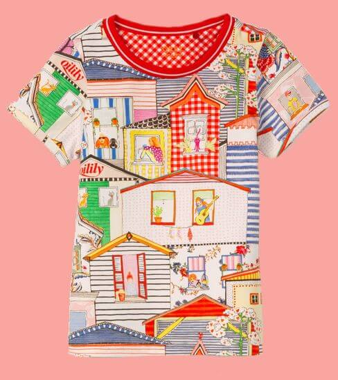 Kindermode Oilily Sommer 2020 Oilily T-Shirt Tof City #009