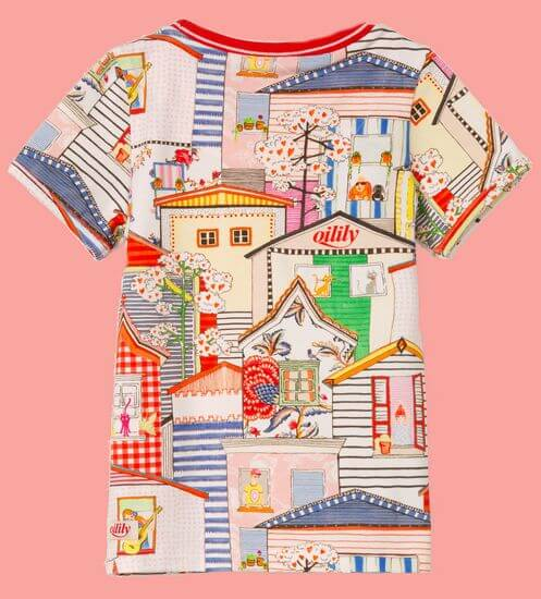Kindermode Oilily Sommer 2020 Oilily T-Shirt Tof Houses #009