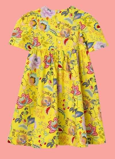 Kindermode Oilily Sommer 2020 Oilily Kleid Downtown yellow #209