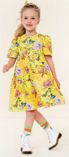 Oilily Sommer 2020 Kleid Downtown yellow #209