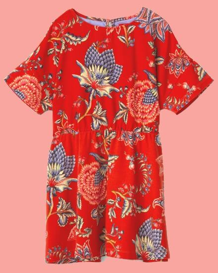 Kindermode Oilily Sommer 2020 Oilily Kleid Thecity red #283