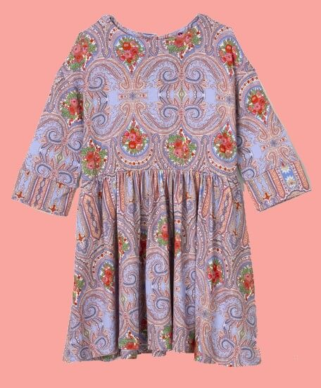 Kindermode Oilily Sommer 2020 Oilily Kleid Torient Orient Rose lila #286
