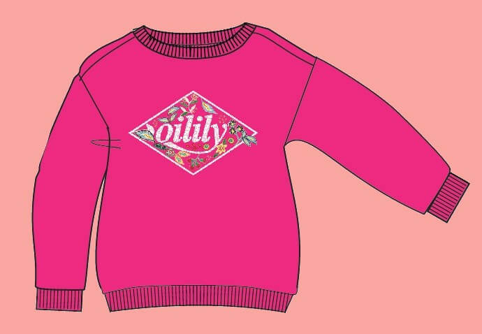 Kindermode Vorbestellung Oilily Sommer 2020 Oilily Pullover Heritage pink #205