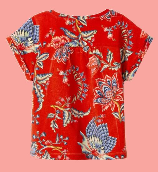 Kindermode Vorbestellung Oilily Sommer 2020 Oilily T-Shirt Tatoma City red #209