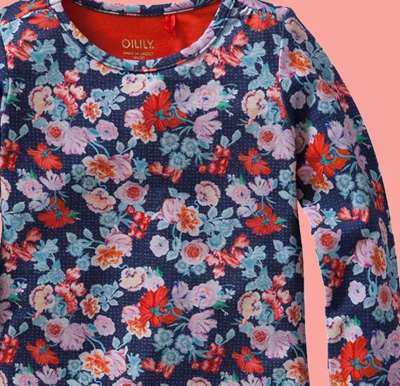 Kindermode Oilily Winter 2015/16 Oilily Shirt Toscana dutchflower #217