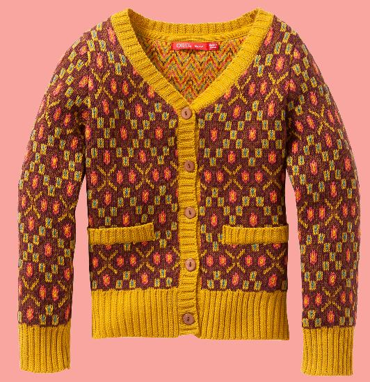 Kindermode Oilily Winter Oilily Strickjacke Kesie #242