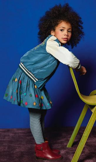 Kindermode Oilily Winter 2017/18 Oilily Rock Sannah blue #202