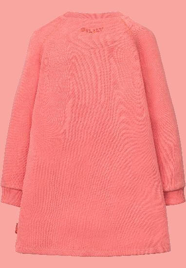 Kindermode Oilily Winter 2017/18 Oilily Kleid / Sweatkleid Hippel Castle pink #266