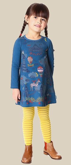 Oilily Kleid Tastle fairytale blue #283