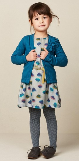 Kindermode Oilily Winter 2017/18 Oilily Cardigan Tjazzi blue #241