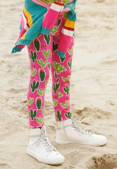 Kindermode Oilily Winter 2018/19 Oilily Hose Cactus pink #002