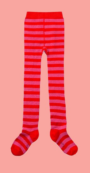 Kindermode Oilily Winter 2019/20 Oilily Strumpfhose Mehdi stripe red-pink #213