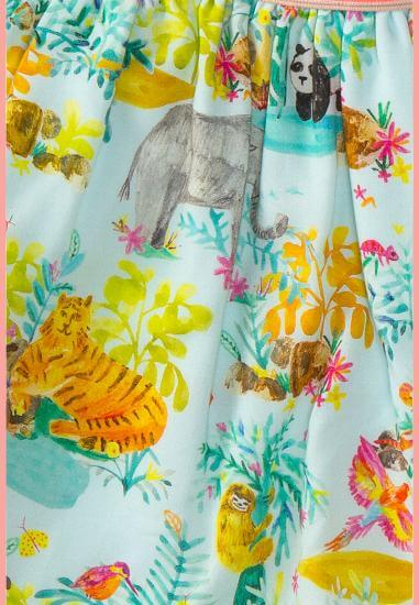 Kindermode Room Seven Sommer 2017 Room Seven Rock Sullivan Jungle blue #K011