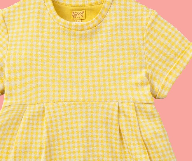 Kindermode Room Seven Sommer 2018 Room Seven Kleid Talama yellow #E001