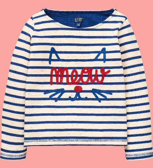 Kindermode Room Seven Winter 2017/18 Room Seven Pullover Hama blue stripe #006