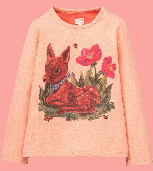 Kindermode Room Seven Winter 2017/18 Room Seven Pullover Tin Bambi light orange #013
